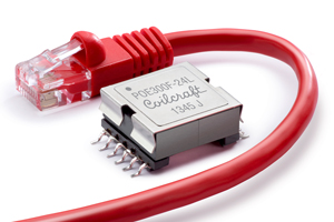 Coilcraft Flyback Transformer for 30 Watt POE Plus Applications